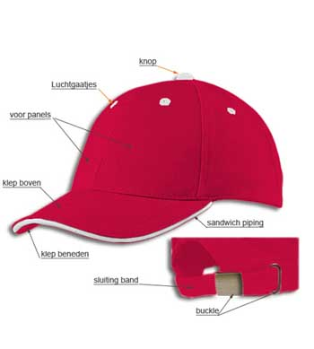 <B>Sandwich baseball caps</B>