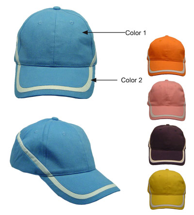<B>Caps met duo colour</B>