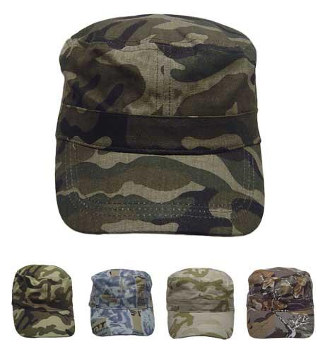 <B>Army caps camouflage</B>