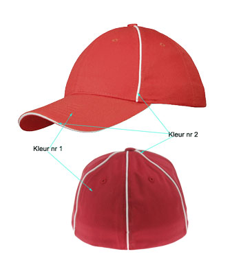 <B>Flexfit 6 panels sandwich caps</B>