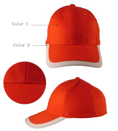 <B>Cap met 2 combinatie kleur klep</B>