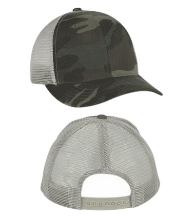 <B>camouflage caps, met mesh</B>