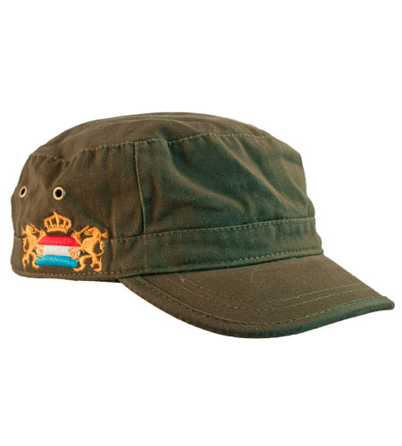 <B>army cap, washed</B>