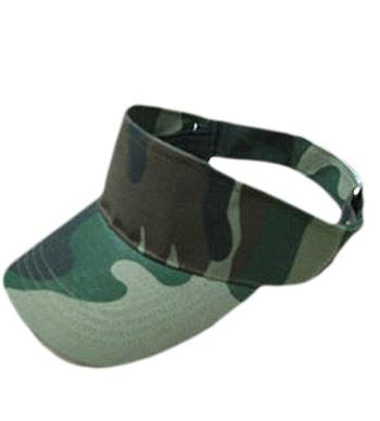 <B>zonneklep in camouflage</B>