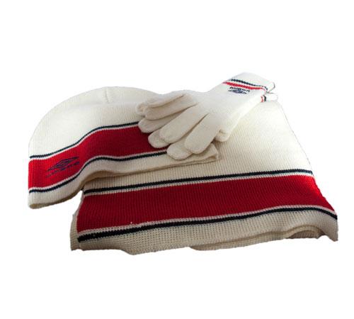 <B>sjaal, muts en handschoen set</B>