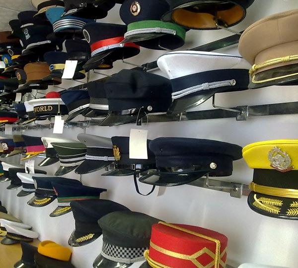 <B>General\'s  caps or captain\'s caps</B>