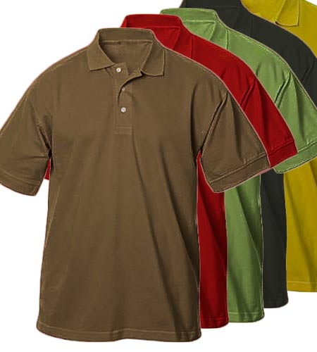 <B>uni polo shirt</B>
