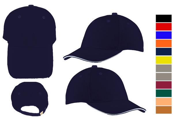 <B>Sandwich caps, simple & classic</B>