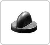 Rubber sluiting voor pins of speldjes