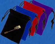 Velvet tasjes voor pins of speldjes
